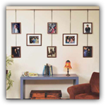 Walker Display Picture Hanging System